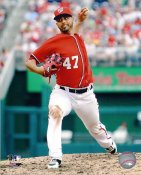 Gio Gonzalez Washington Nationals 8X10 Photo
