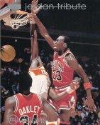 Michael Jordan SUPER SALE Upper Deck Glossy Card Stock Chicago Bulls 8x10 Photo