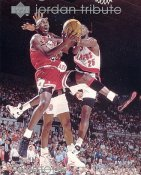 Michael Jordan SUPER SALE Upper Deck Glossy Card Stock Chicago Bulls 8x10 Photo