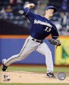Zack Greinke Milwaukee Brewers 8X10 Photo
