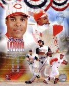 Barry Larkin Hall Of Fame Cincinnati Reds LIMITED STOCK 8x10 Photo