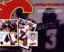 Denis Gauthier LIMITED STOCK Calgary Flames 8x10 Photo