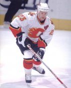 Kristian Huselius LIMITED STOCK  Calgary Flames 8X10 Photo