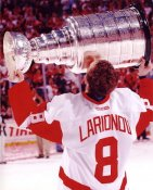Igor Larionov LIMITED STOCK Detroit Red Wings 8X10 Photo