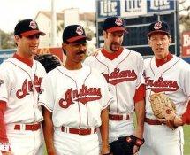 Orel Hershiser, Dennis Martinez, Jack McDowell & Charles Nagy LIMITED STOCK Cleveland Indians 8X10 Photo