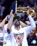 Dwyane Wade w/ 2012 NBA Championship Trophy Miami Heat 8X10 Photo LIMITED STOCK