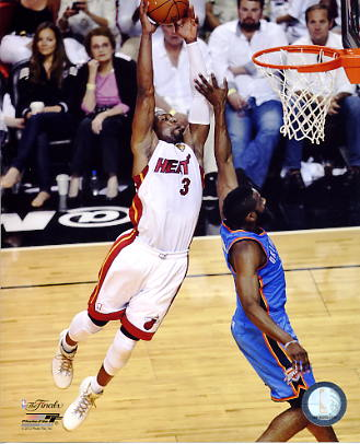 Dwyane Wade Game 3 NBA Finals 2012 Miami Heat 8X10 Photo LIMITED STOCK