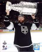 Dustin Penner w/ 2012 Stanley Cup Los Angeles Kings 8x10 Photo
