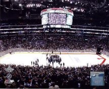 Staples Center 2012 Stanley Cup Win Los Angeles Kings 8x10 Photo