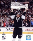Dustin Brown w/ 2012 Stanley Cup Los Angeles Kings 8x10 Photo