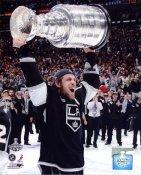Anze Kopitar w/ 2012 Stanley Cup Los Angeles Kings 8x10 Photo