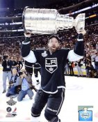 Justin Williams w/ 2012 Stanley Cup Los Angeles Kings 8x10 Photo