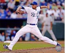 Jonathan Sanchez Kansas City Royals 8X10 Photo