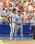 Tommy Lasorda & Danny Johnson LIMITED STOCK LA Dodgers 8X10 Photo
