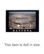 4X6 POSTCARD Daytona International Speedway Feb 18, 2001 Florida 4x6 POSTCARD