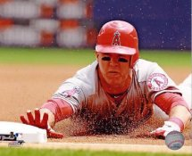 Mike Trout Anaheim Angels LIMITED STOCK SATIN 8X10 Photo