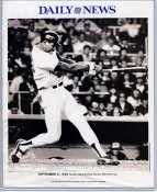 Dave Winfield 1982 New York Yankees Daily News Bill Gallo Cartoon & Stats on Back, Comes in Top Load Holder 8X10 Photo