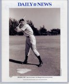 Joe DiMaggio 1937 New York Yankees Daily News Bill Gallo Cartoon & Stats on Back, Comes in Top Load Holder 8X10 Photo