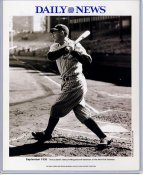 Tony Lazzeri 1936 New York Yankees Daily News Bill Gallo Cartoon & Stats on Back, Comes in Top Load Holder 8X10 Photo