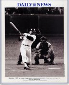 Reggie Jackson 1977 New York Yankees Daily News Bill Gallo Cartoon & Stats on Back, Comes in Top Load Holder 8X10 Photo