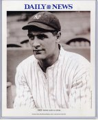 Lou Gehrig 1923 New York Yankees Daily News Bill Gallo Cartoon & Stats on Back, Comes in Top Load Holder 8X10 Photo