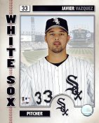 Javier Vazquez LIMITED STOCK Chicago White Sox 8X10 Photo