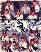 Paul Konerko, Frank Thomas,Foulke, Valentin, Ordonez, Lee, Eldred, Baldwin, Durham, Singleton, Norton, Sirotka LIMITED STOCK Chicago White Sox 8x10 Photo