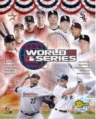 Paul Konerko, Mark Buehrle, Orlando Hernandez, Bobby Jenks, Scott Podsednik Chicago 2005 LIMITED STOCK World Series Champs 8X10 Photo
