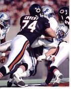 Jim Covert LIMITED STOCK Chicago Bears 8x10 Photo