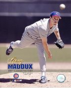 Greg Maddux LIMITED STOCK 300th Career Victory Chicago Cubs 8X10