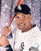 Sandy Alomar Jr LIMITED STOCK Chicago White Sox 8X10 Photo
