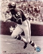 Gale Sayers LIMITED STOCK Sepia Tone Chicago Bears 8X10 Photo