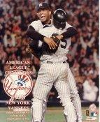 Mariano Rivera & Joe Girardi 1998 American League Champions SUPER SALE New York Yankees 8X10 Photo