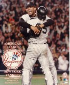 Mariano Rivera & Joe Girardi 1998 American League Champions LIMITED STOCK New York Yankees 8X10 Photo