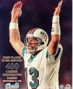 Dan Marino SUPER SALE No Hologram 400 Career Touch Down Passes Miami Dolphins 8X10 Photo