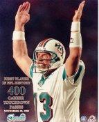Dan Marino No Hologram 400 Career Touch Down Passes Miami Dolphins 8X10 Photo