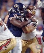 Tommie Harris LIMITED STOCK Chicago Bears 8X10 Photo