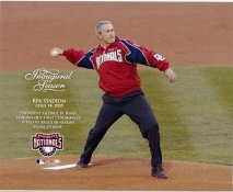 President Bush 1st Pitch 2005 Opener LIMITED STOCK 8x10 Photo