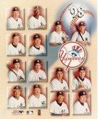 Hideki Irabu, Dave Cone, Joe Girardi, Paul O'Neill, David Wells, Tino Martinez LIMITED STOCK 1998 New York Yankees 8X10 Photo