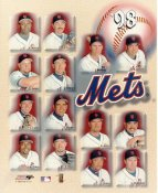 John Franco, John Olerud, Al Leiter, Dave Mlicki, George McMichael, Batch Huskey 1998 NY Mets SUPER SALE 8X10 Photo