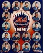 Todd Hundley, John Franco, Dave Mlicki, Alex Ochoa, Carl Everett SUPER SALE 1997 New York Mets 8X10 Photo