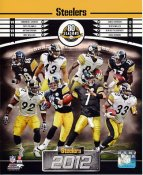 Steelers 2012 Pittsburgh LIMITED STOCK 8x10 Photo