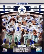 Cowboys 2012 Dallas Team 8X10 Photo
