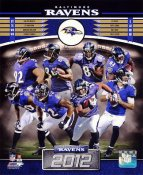Ravens 2012 Baltimore Team 8x10 Photo