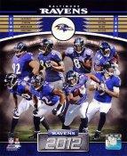 Ravens 2012 Baltimore Team 8x10 Photo