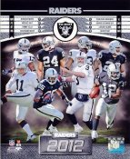 Raiders 2012 Oakland Team 8x10 Photo