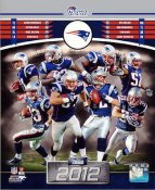 Patriots 2012 New England Team 8x10 Photo