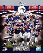 Patriots 2012 New England Team 8x10 Photo