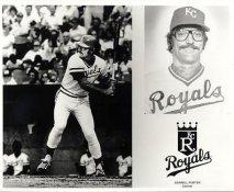 Darrell Porter LIMITED STOCK Kansas City Royals 8x10 Photo