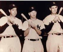 Joe DiMaggio , Mickey Mantle and Ted Williams No Hologram LIMITED STOCK NY Yankees 8X10 Photo